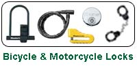 Bicycle and Motorcycle Locks