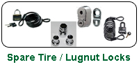 Spare Tire / Lug Nut Locks