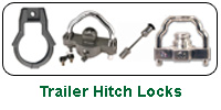 Trailer Hitch Coupler Locks
